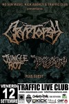 Cryptopsy: data a Roma con Disgorge e Jungle Rot a settembre