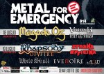 Metal for Emergency: il bill completo
