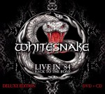 "Whitesnake: a novembre il CD/DVD ""Live in '84: Back To The Bone"""