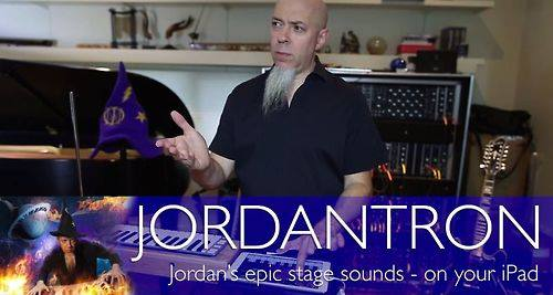 Dream Theater: sounds library di Jordan Rudess sul tuo iPad