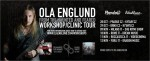 The Haunted: Ola Englund in Italia per quattro date