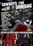 Cowboys for Dimebag: All Star Tribute Benefit Show il 7 dicembre all' Honky Tonky di Seregno (MB)