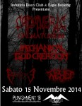 Death Metal Night: il bill di sabato 15 a Brescia
