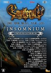 Insomnium: tour europeo con gli Ensiferum, una data in Italia