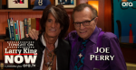Aerosmith: Joe Perry intervistato da Larry King