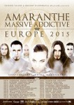 "Amaranthe: una data in Italia per il tour di ""Massive Addictive"""