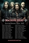 Machine Head: quattro date in Italia in autunno